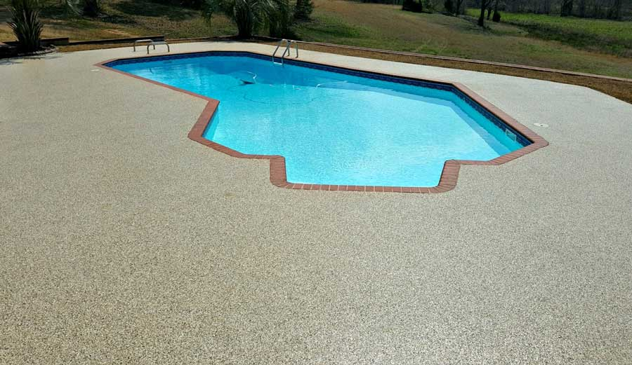 Pool Deck Concrete Resurfacing | Staunton Virginia